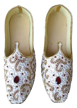 Mens White Designer Wedding Shoes