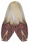 Mens Wedding ShoeFor Groom Burgandy Indian Wedding Shoes