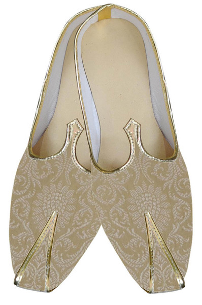 Designer Golden Wedding Shoes