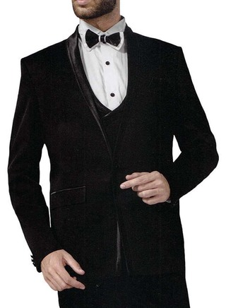 Mens Wine 6 Pc Tuxedo Suit Checks One Button