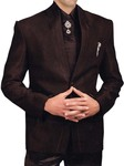 Mens Purple Wine 6 pc Tuxedo Suit Traditional