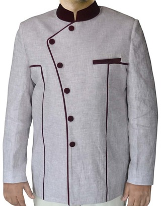 Mens Gray Jodhpuri Suit Opulent 2 Pc