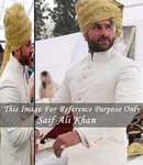 Mens Sherwani Cream Royal Jodhpuri Indo WesternOutfit