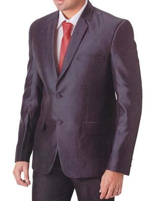 Mens Purple Wine 4 Pc Tuxedo Suit Notch Lapel