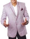 Mens Plum 3 Pc Tuxedo Suit Notch Lapel