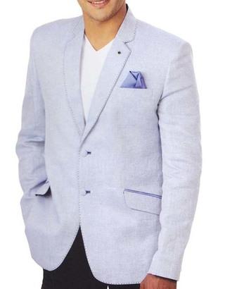 Mens Lavender 3 Pc Tuxedo Suit Notch Collar