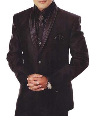 Mens 7 Pc Black Tuxedo Suit Wonderful