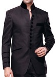 Mens Gray 2 Pc Tuxedo Suit Indian Designer