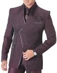Mens Brown 6 pc Tuxedo Suit Royal Touch