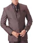 Mens Brown 7 Pc Tuxedo Suit Beautiful Engagement
