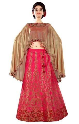 Beautiful Crimson Red Lehenga Choli