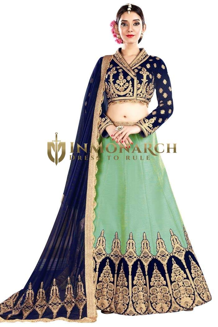 Royal Look Silk Wedding Lehenga Choli