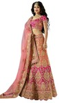 Indian Partywear Satin Lehenga Choli