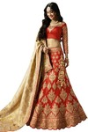 Wedding Red Heavy Work Lehenga