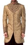 Indian Sherwani for Men Burlywood Indowestern Sherwani kurta Groom suit