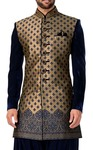 Mens Beige 3 Pc Indo Western Outfits