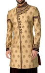 Mens Sherwani Bisque Indowestern Bollywood Mens Kurta for Jeans