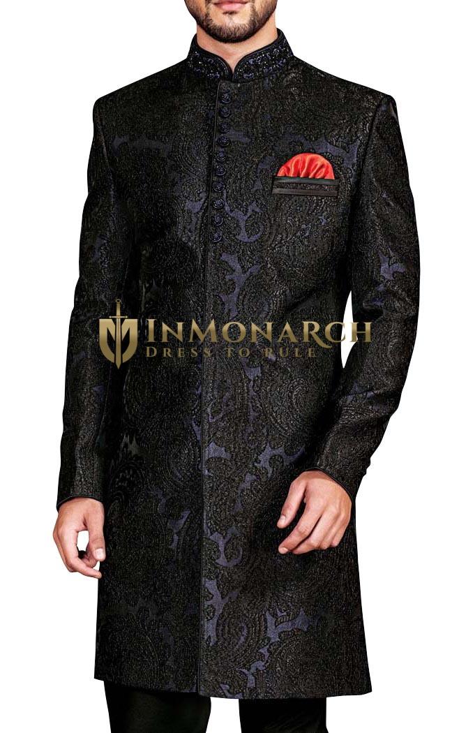 Sherwani Regency Indowestern Elegant Indian Wedding Clothes for Men