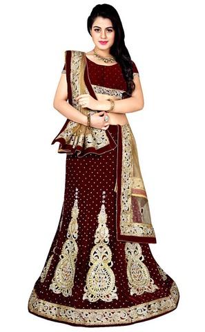 Gorgeous Red Designer Lehenga