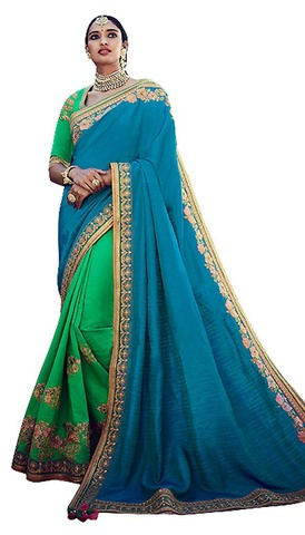 Designer Jacquard Art Silk Wedding Saree
