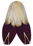 Indian Mens Shoes Wine Groom Wedding Shoes Traditional Shoes Juti
