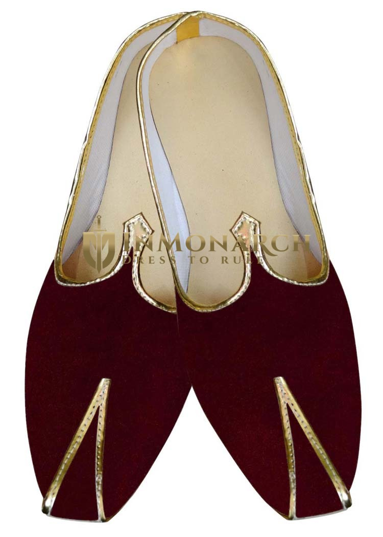 Juti ForMen Dark Wine Groom Shoes Wedding ShoeFor Groom