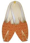 Indian Mens Shoes Rust Wedding Paisley Shoes Mens Juti
