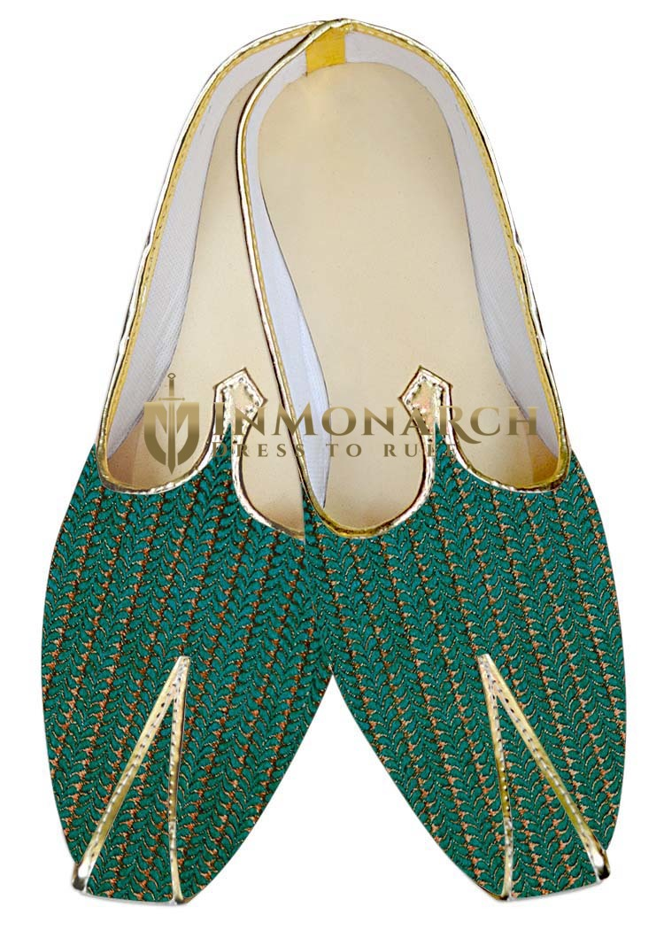 Indian WeddingShoes For Men Teal Wedding Shoes Classic