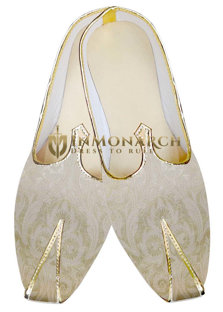 Mens Sherwani Shoes Almond Wedding Shoes Fashionable Juti ForMen