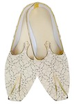 Traditional Shoes For Men Cream Wedding Mojari Indian Shoes