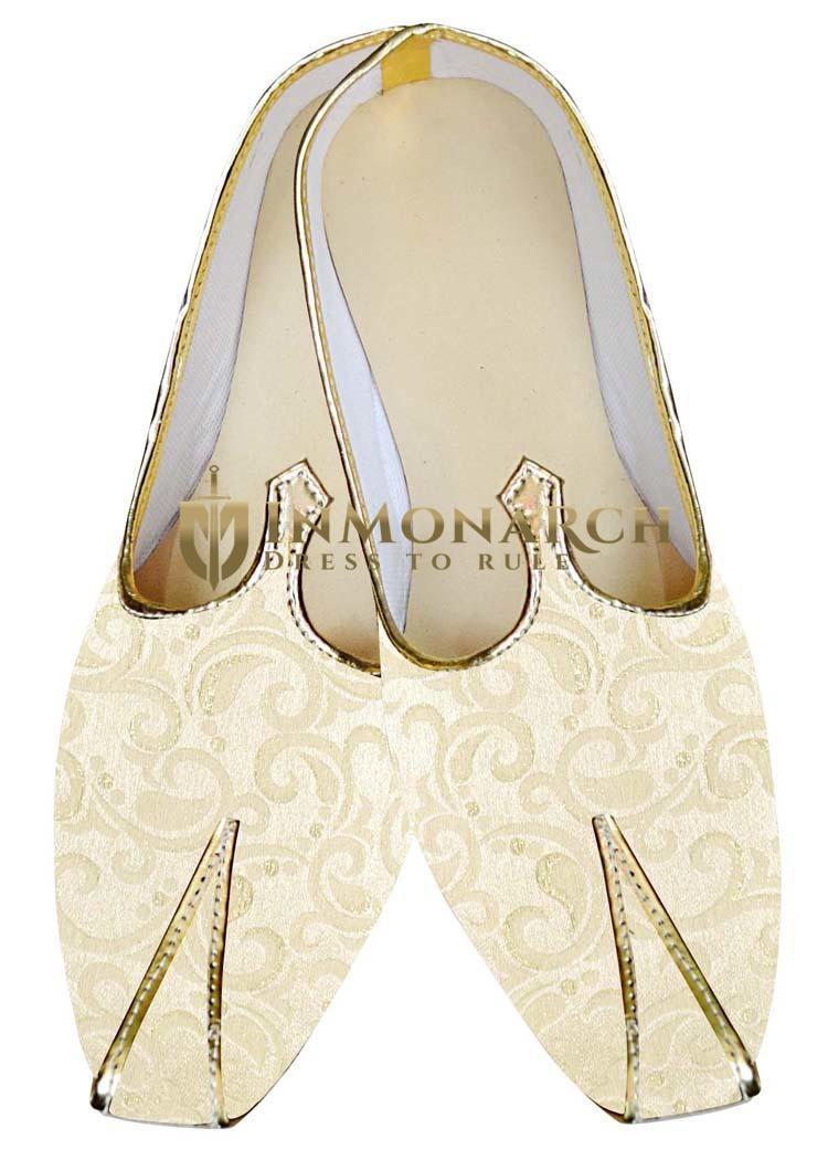 Juti ForMen Ivory Wedding Shoes Stylish Look Wedding Shoe
