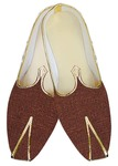 Indian Mens Shoes Copper Wedding Shoes Bridegroom Juti