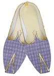 Mens Indian Bridal Shoes Lavender Jute Wedding Shoes Indian Groom Shoes