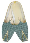 Indian Wedding Shoes For Men Green Jute Wedding Shoes Bridegroom