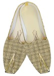 Juti ForMen Golden Jute Wedding Shoes Designer Wedding Shoe