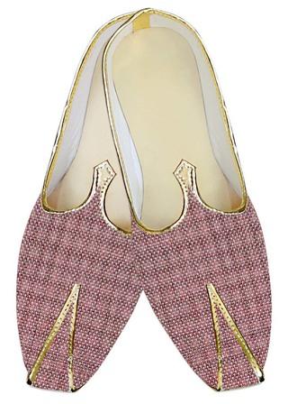 Mens Wedding ShoeFor Groom Plum Wedding Shoes Bollywood