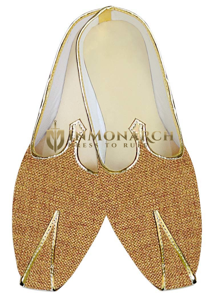 Mens Wedding ShoeFor Groom Bisque Wedding Shoes Bollywood