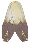 Traditional Shoes For Men Bronze Jute Wedding Shoe Designer