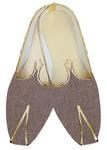 TraditionalShoes For Men Bronze Jute Wedding Shoe Designer