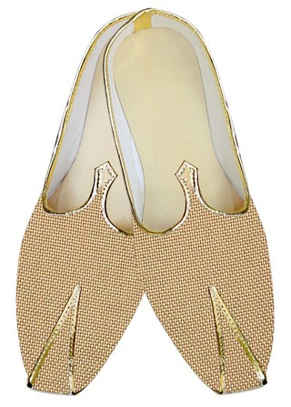 Indian MensShoes Bisque Jute Wedding Shoes Partywear Indian WeddingShoes