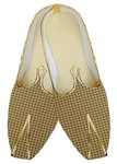 Indian Wedding Shoes For Men Bisque Checks Wedding Shoes Bollywood