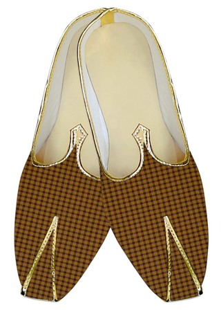 Mens Wedding ShoeFor Groom Yellow Wedding Shoes Checks
