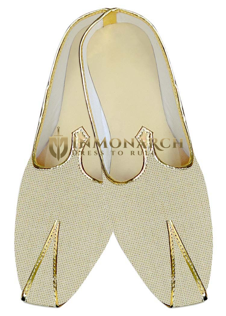 Mens Indian Bridal Shoes Beige Jute Wedding Shoes Ethnic