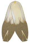 Mens Juti Tan Jute Wedding Shoes Sherwani Shoes