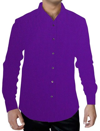 Mens Regency Cotton Shirt Full Sleeve Button Down