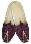 Juti ForMen Magenta Wedding Shoes Hawaiian Print Wedding Shoe