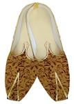 Traditional Shoes For Men Rust Wedding Shoes Printed Indian Shoes