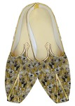 Indian Mens Shoes Olive Drab Wedding Shoes Gray Floral