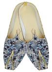 Indian WeddingShoes For Men Sky Blue Wedding Shoes Multi Design