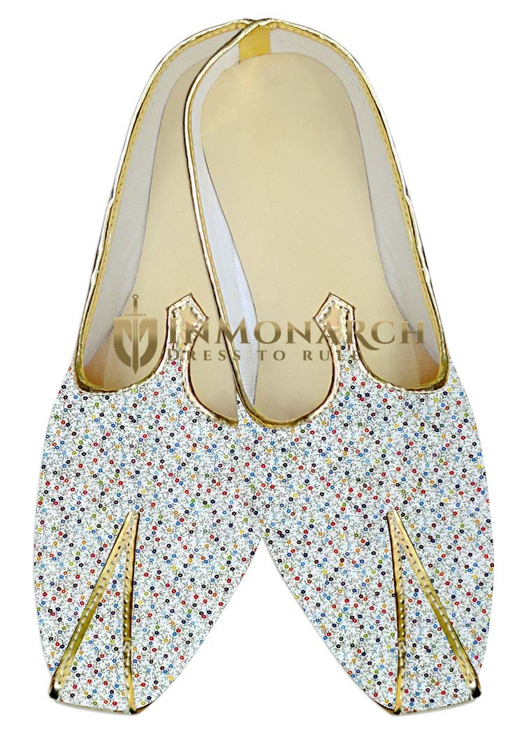 Mens Wedding ShoeFor Groom White Wedding Shoes MultiStar